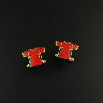 Cuff links football