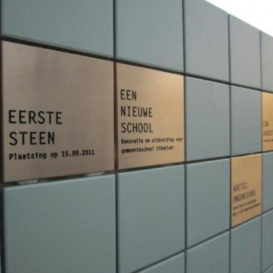 Eerstesteenlegging school