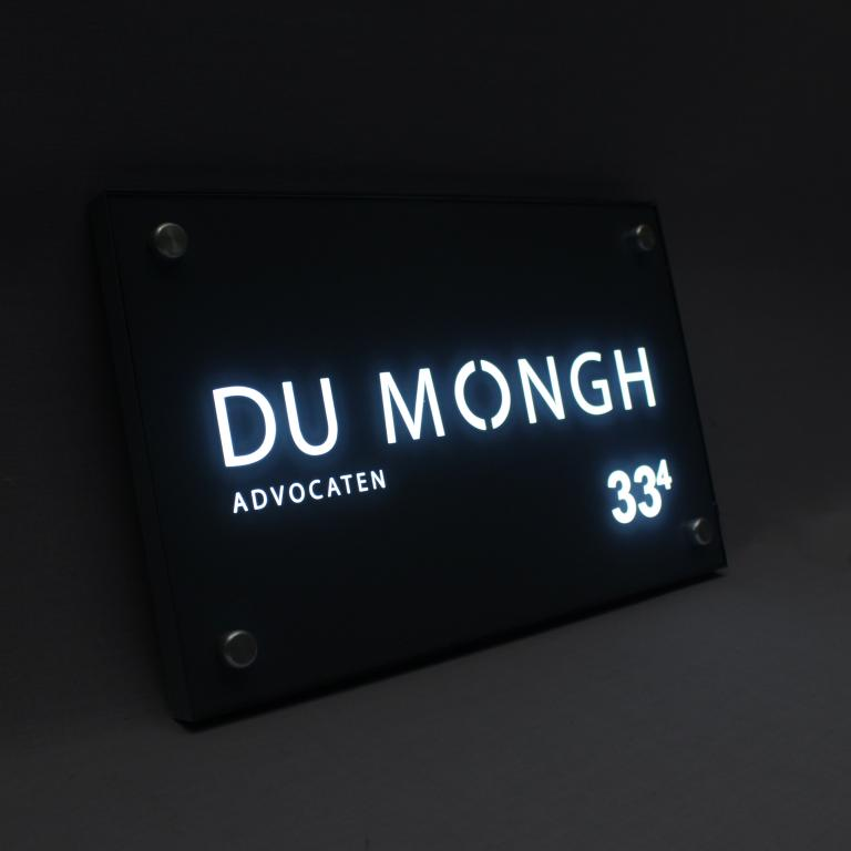 Nameplates and house numbers - Nameplates - Nameplates with LED ...