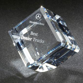 Beveled Diamond Cube (C632)