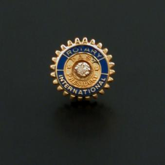 Rotary pin past-president 10 mm