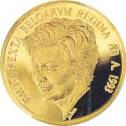 Gouden penning Paola