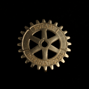 Rotary plaque voiture