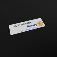 Rotary badge nominatif